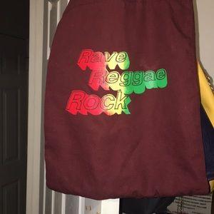 Brown Yellow  Reggae Bag